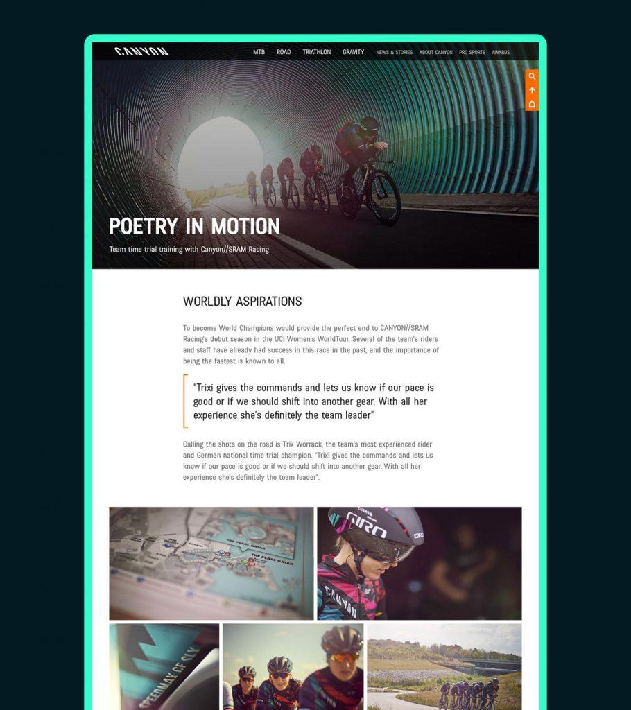 Canyon USA teaser website